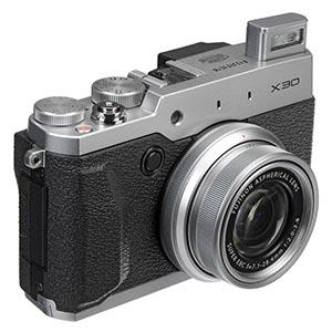Fujifilm X30 12 MP Digital Camera Review