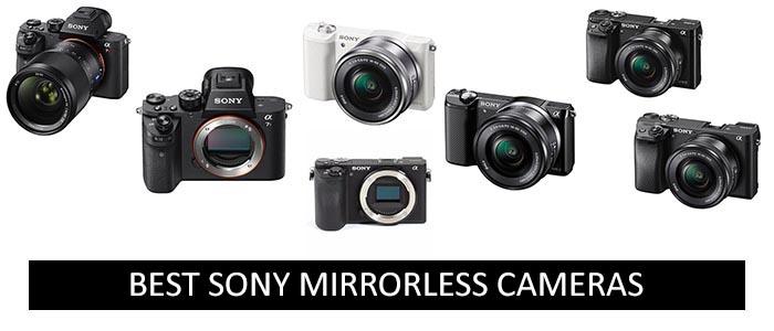Best Sony Mirrorless Camera