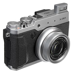 Fujifilm X30 12 MP Digital Camera Review